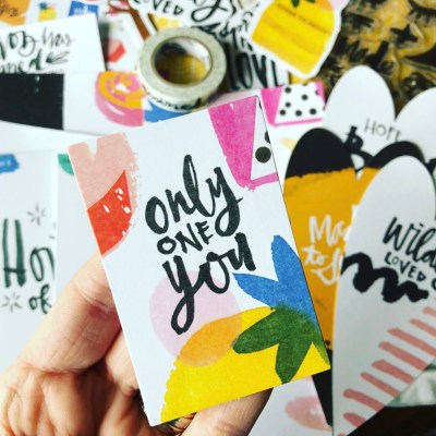 Only One You | Illustrated Faith Bible Journaling Kit April 2018