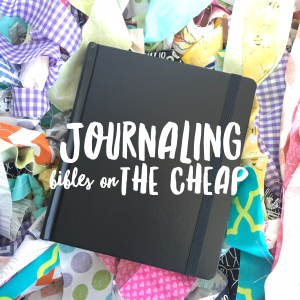 Get a Journaling Bible on the CHEAP | Cyber Bible Sale