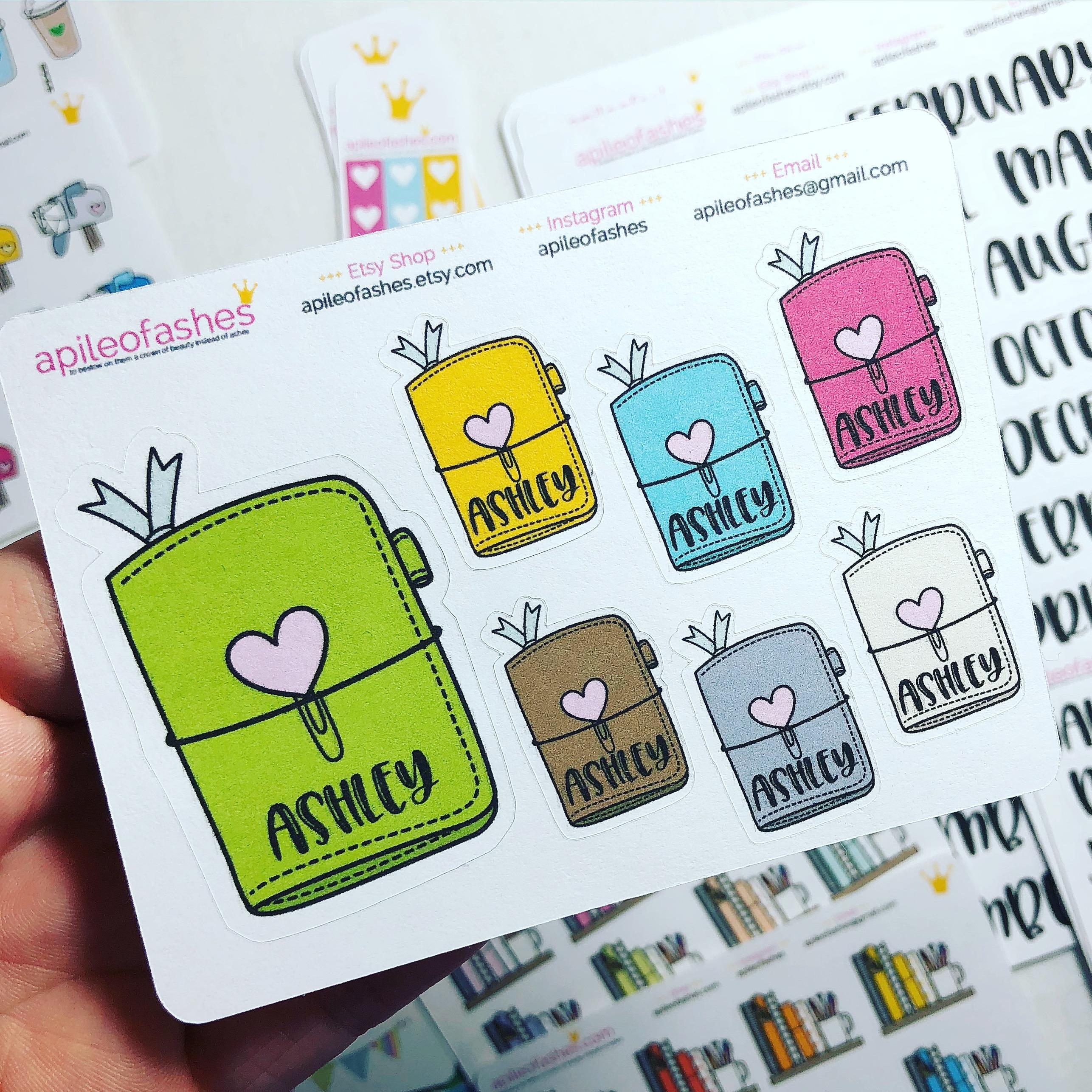 Custom tn stickers