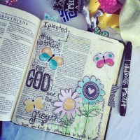 Journaling Bible | GOD Gives Growth + Freebie