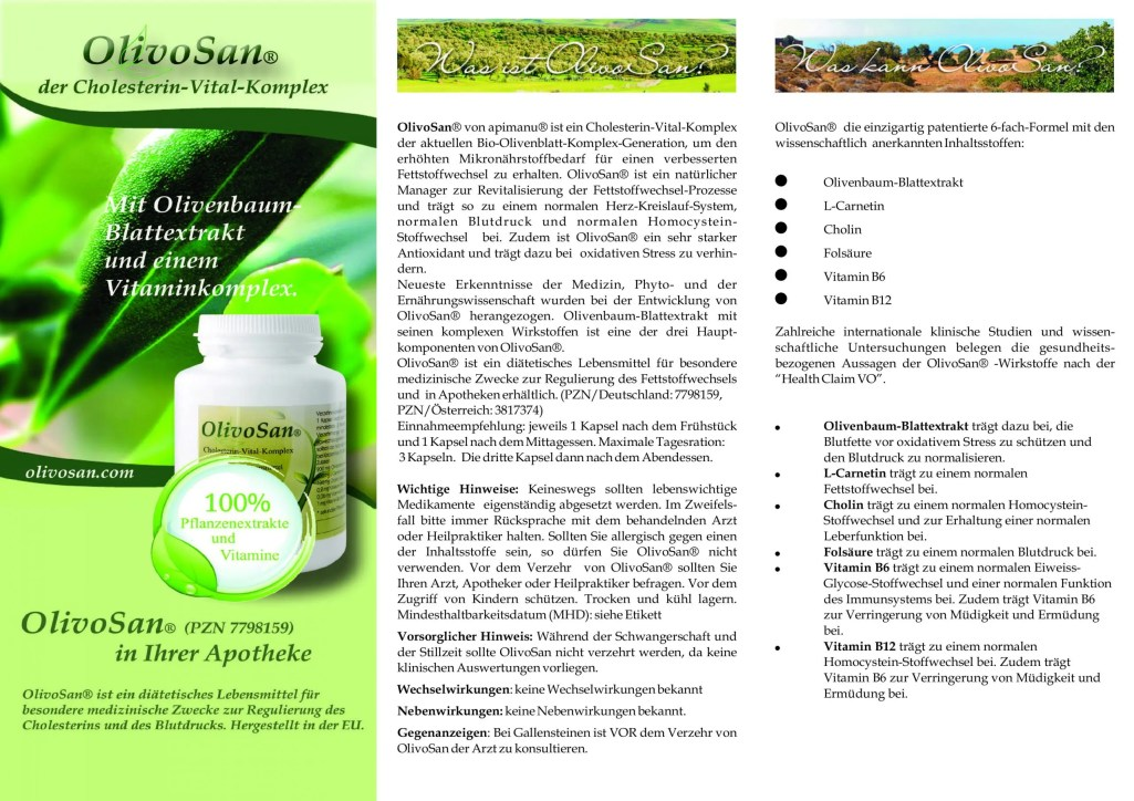 OlivoSan Produktbeschreibung