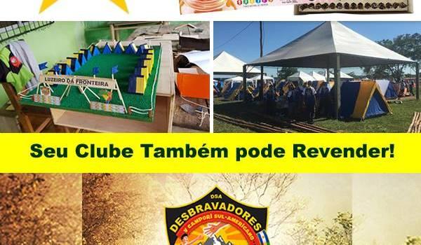 Clube obteve 100 mil reais na revenda de Produtos da Apimel