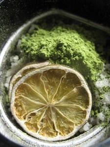 matcha lime salt