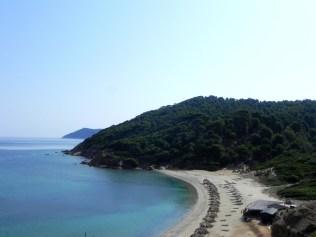 northern beach in Skiathos