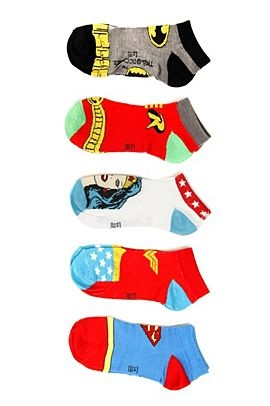 Super Hero Socks- gift ideas for an 18 year old