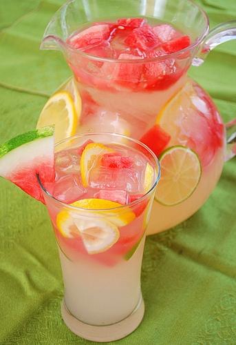 Watermelon Lemonade via pinterest - Joelens.blogspot.com - gift ideas for an 18 year old