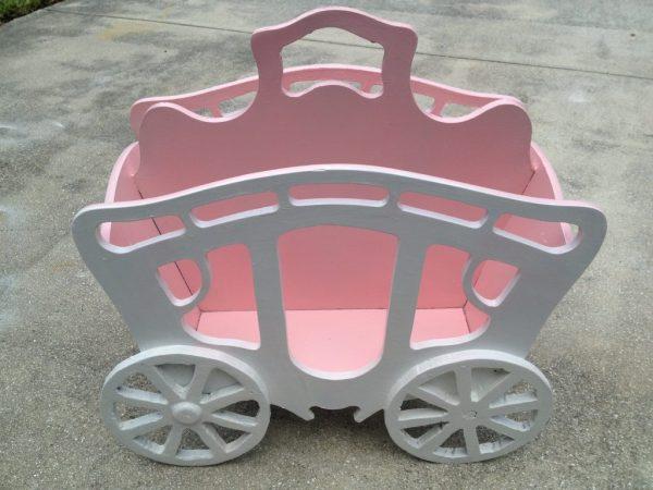 Cinderella's Carriage Book Holder