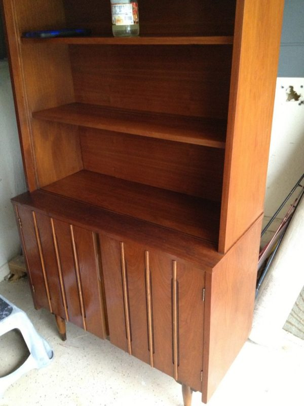 Mid Century Modern cabinet after