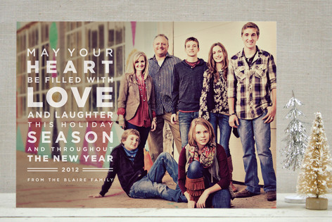 Earnest Holiday Photo Cards by Sydney Newsom - Minted.
