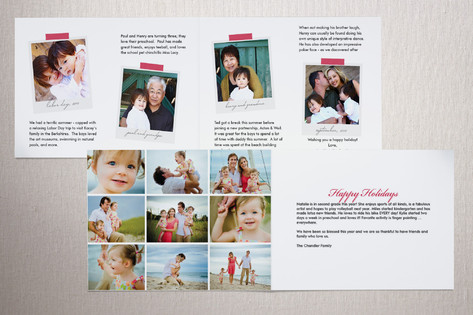 Interior Options for a folded card