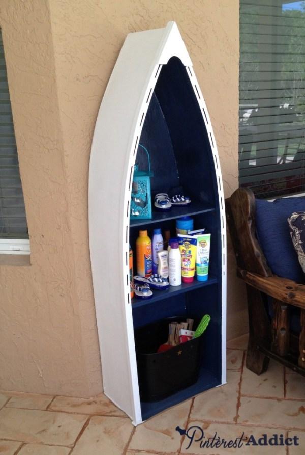 boat shelf after