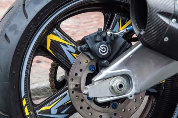 Modifikasi Mx King brembo rem