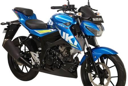 suzuki gsx s150 biru