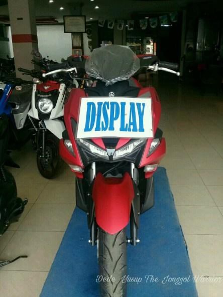 Yamaha Aerox 155 Bogor