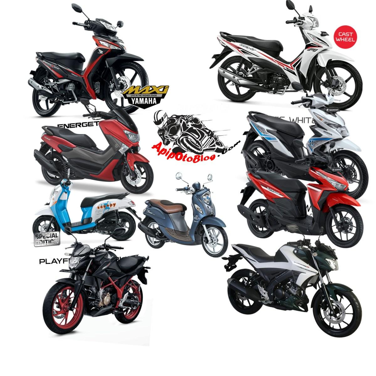10 Motor Yang Paling Laris Di Kuasai Honda.. NMAX dan Mio Nyempil Disini