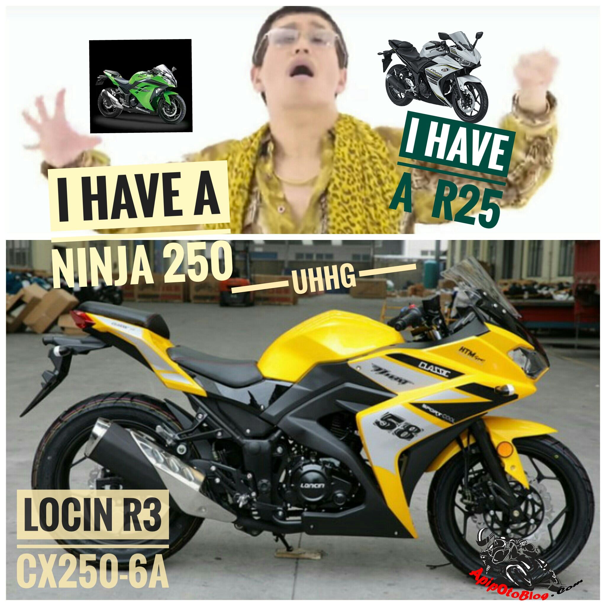 Gabungan motor Ninja 250 sama R25
