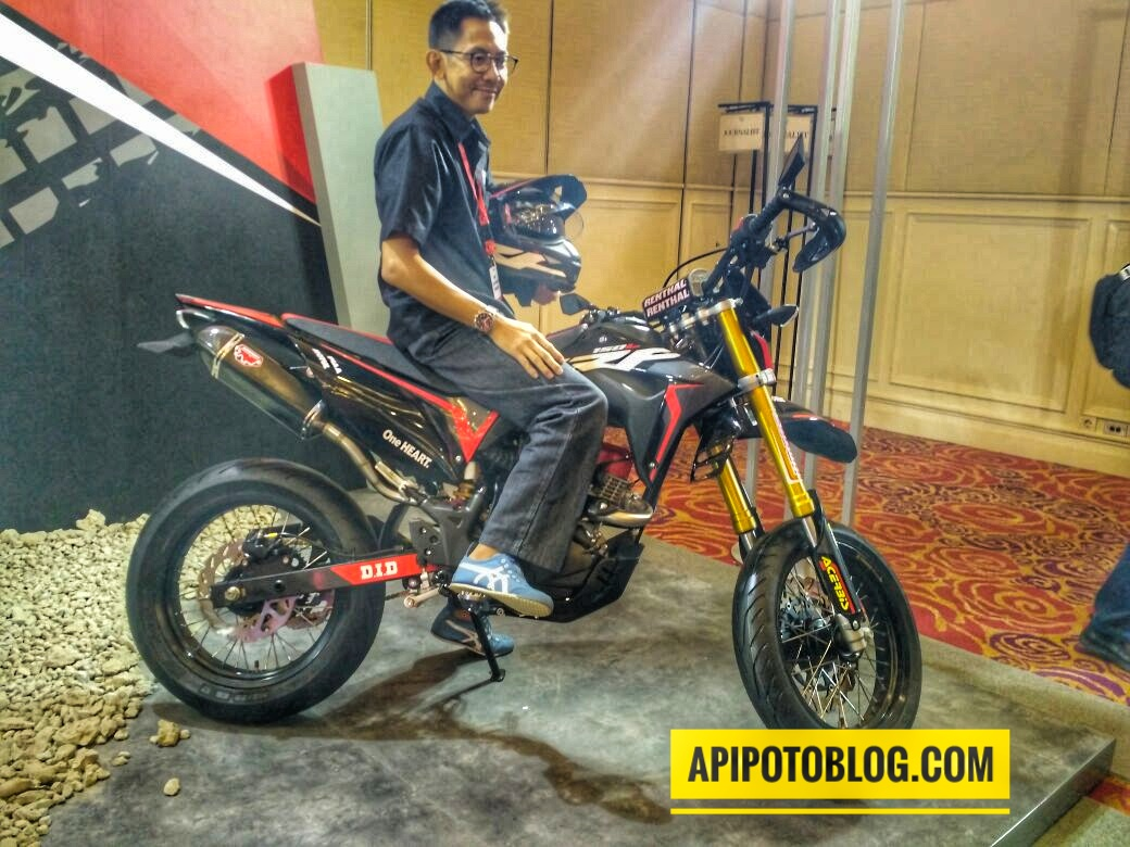 Download Ide 78 Modifikasi Motor Honda Crf150l Terkeren Pojok Otomania