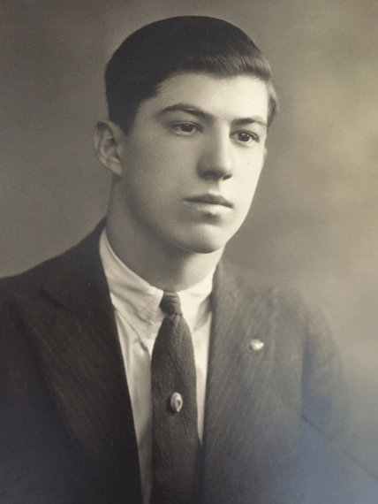 Paul Coons as a young man.