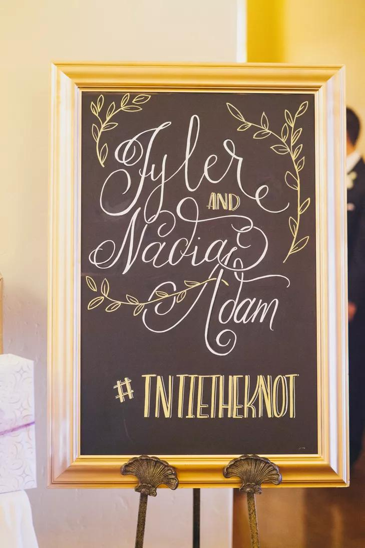 20 Creative Ways To Display Your Wedding Hashtag