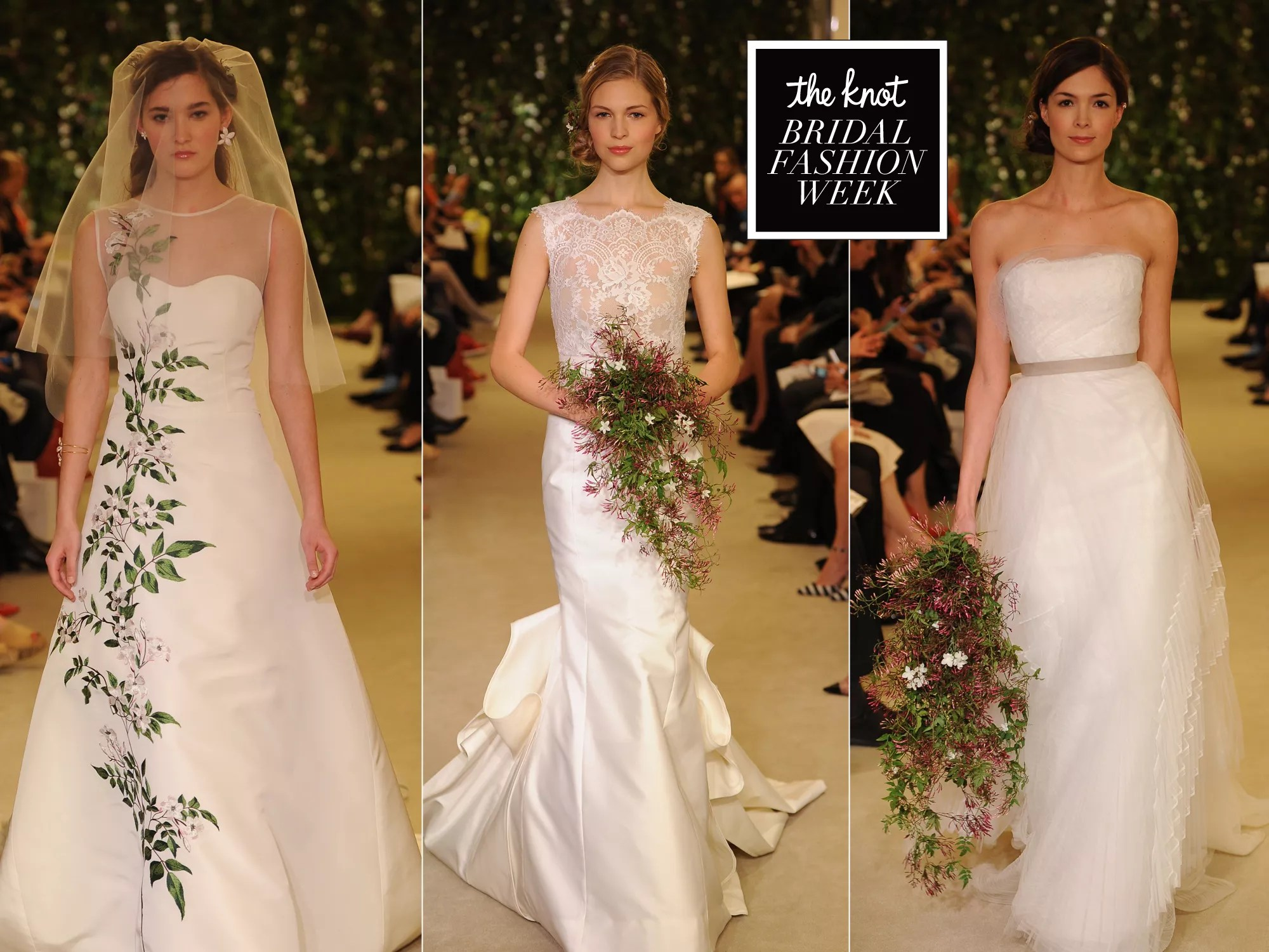 Carolina Herrera Spring Wedding Dresses: Bridal Fashion
