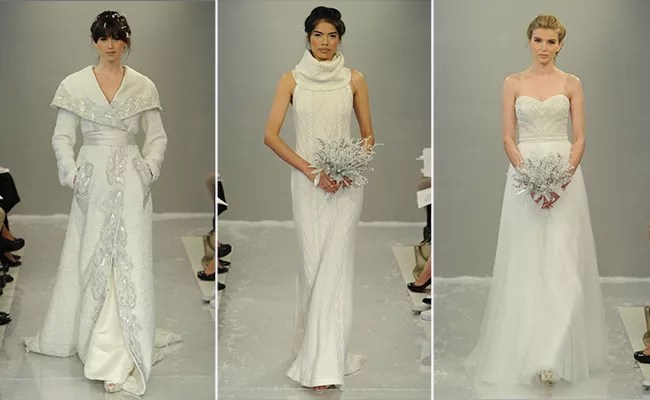 Theia Fall 2015 Wedding Dress Collection Includes Knit