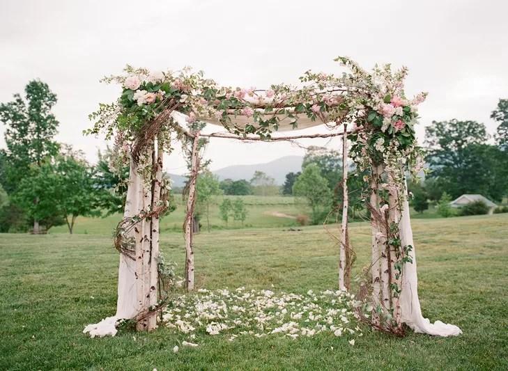 A Classic, Romantic Wedding At Veritas Vineyards In