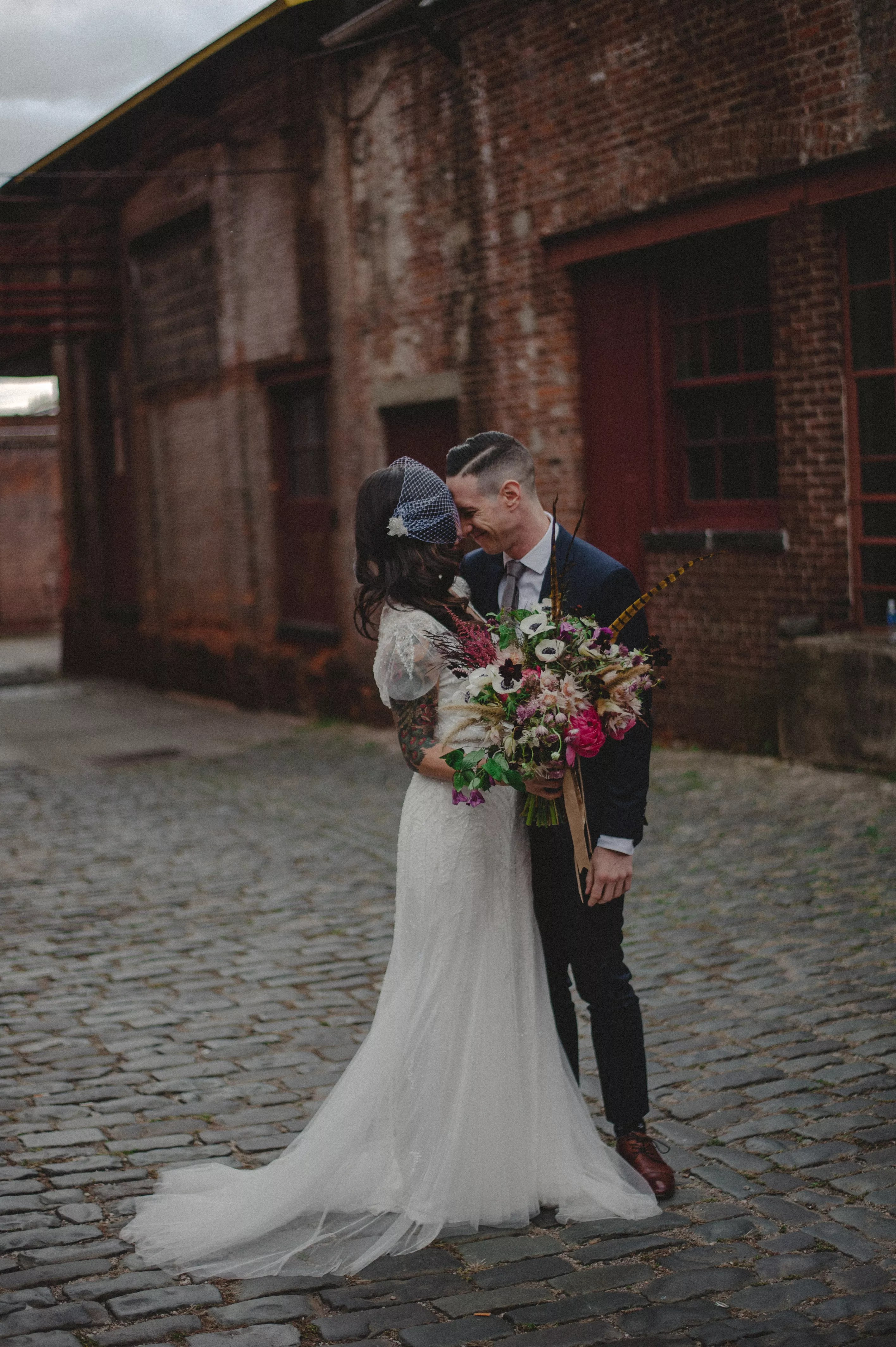 An Urban Modern Wedding At The Art Factory In Paterson