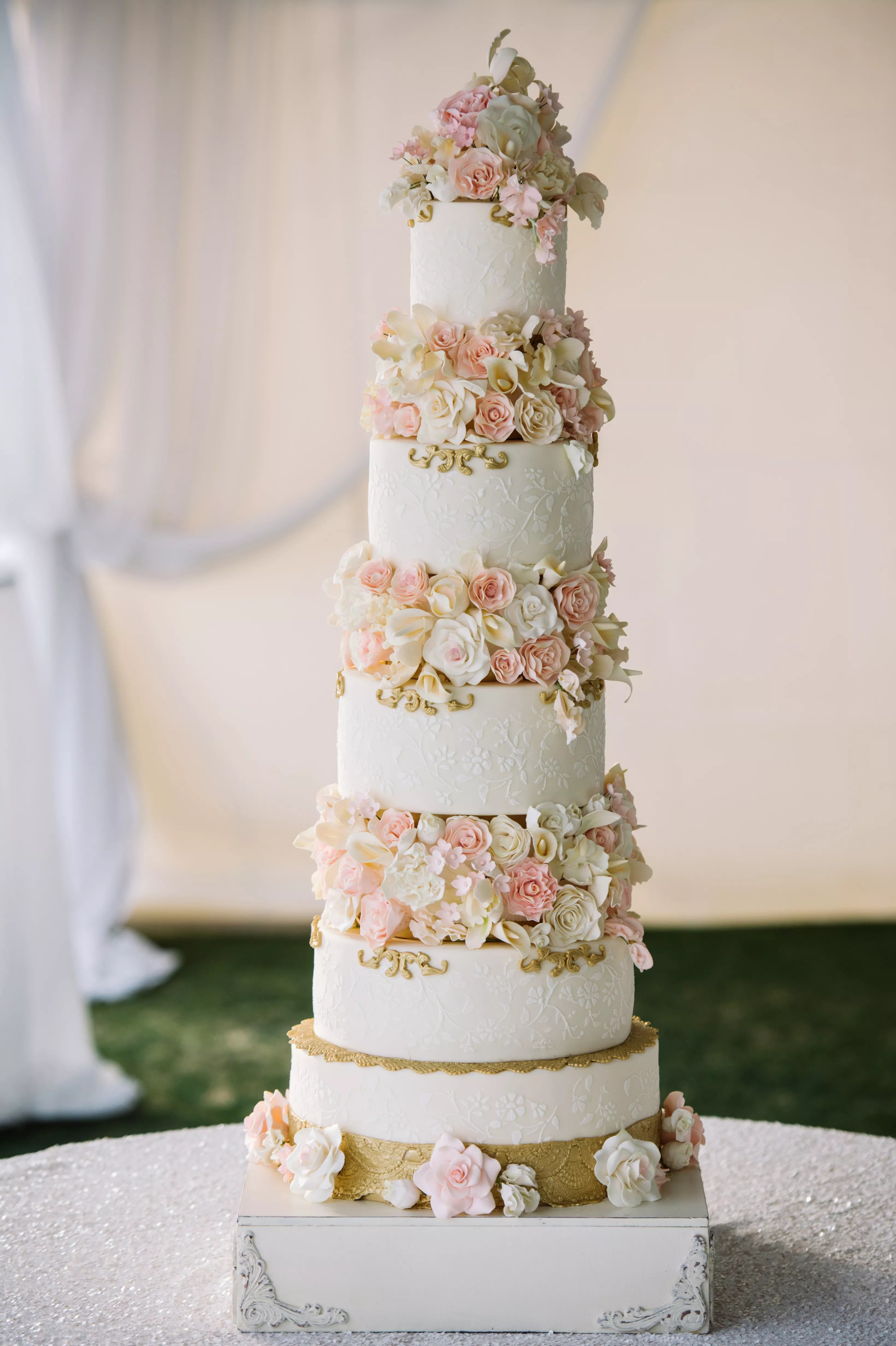 Eight Tier Wedding Cake