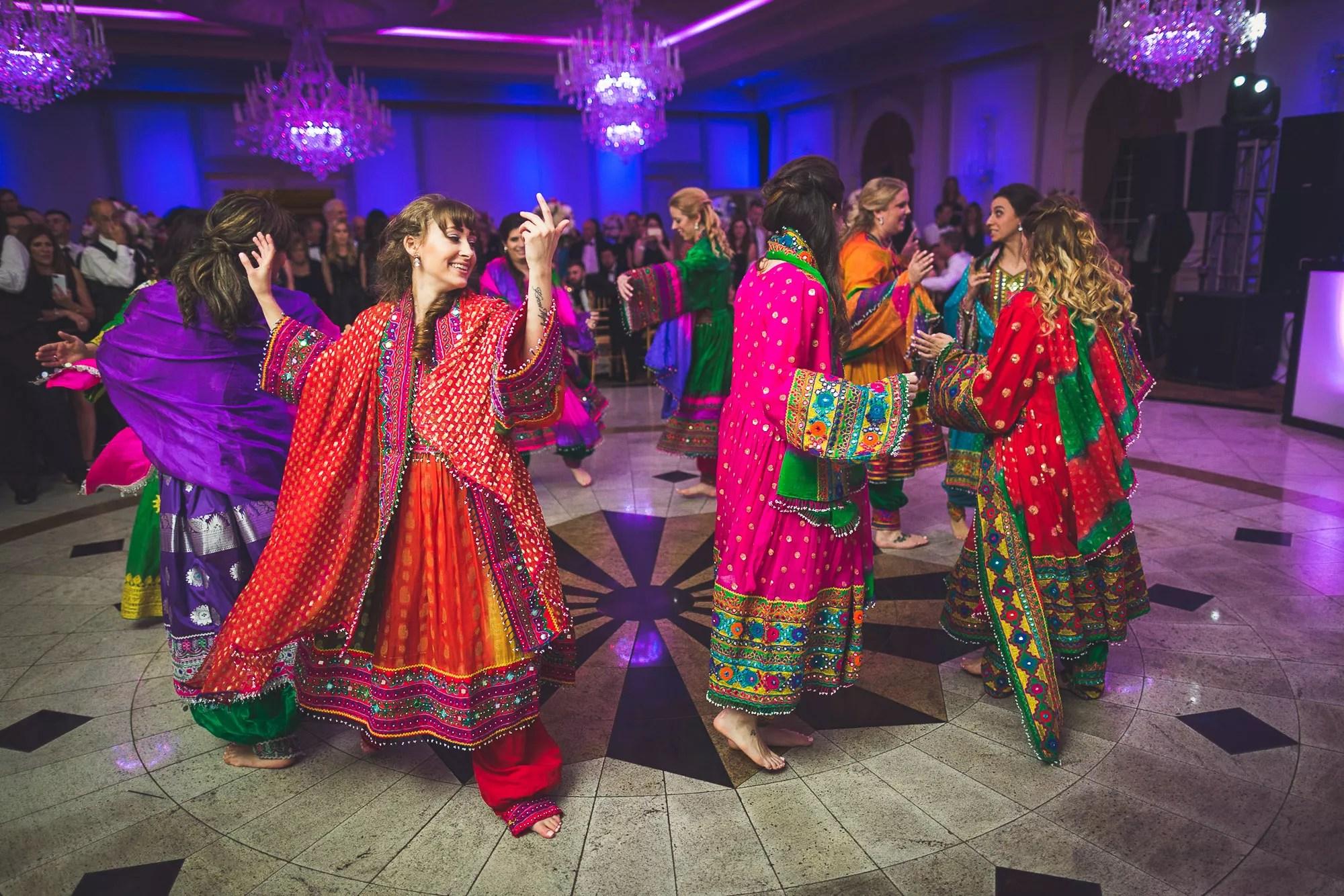 Traditional Afghan Wedding Attan