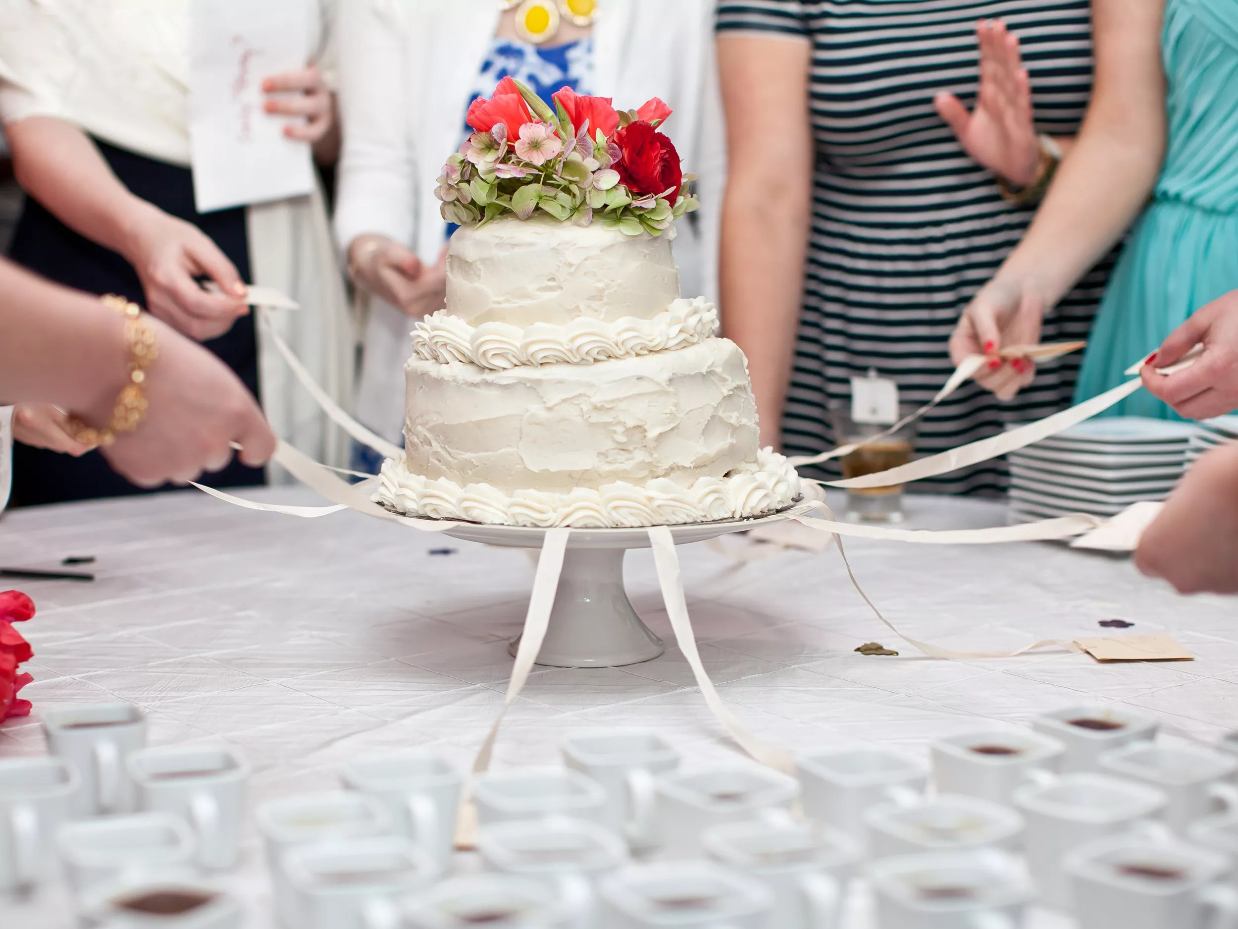 Wedding Cake Traditions