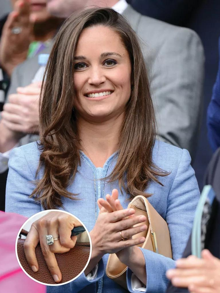 See Pippa Middletons Engagement Ring And Get The Look