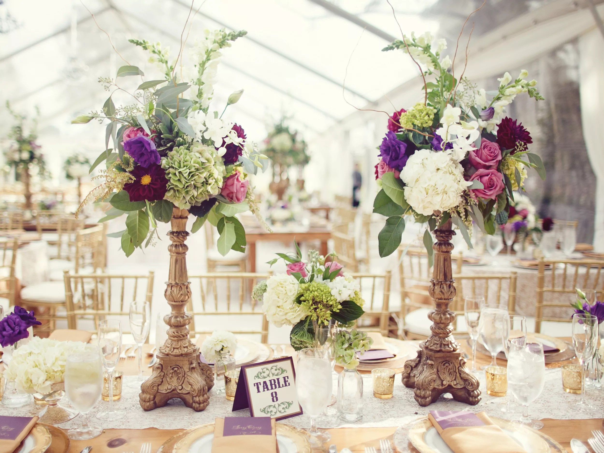 How To Transport Tall Centerpieces