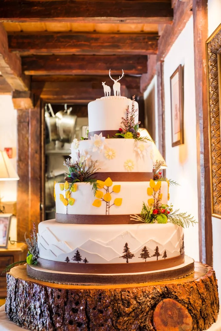 A Country Chic Mountain Wedding At Ski Tip Lodge In