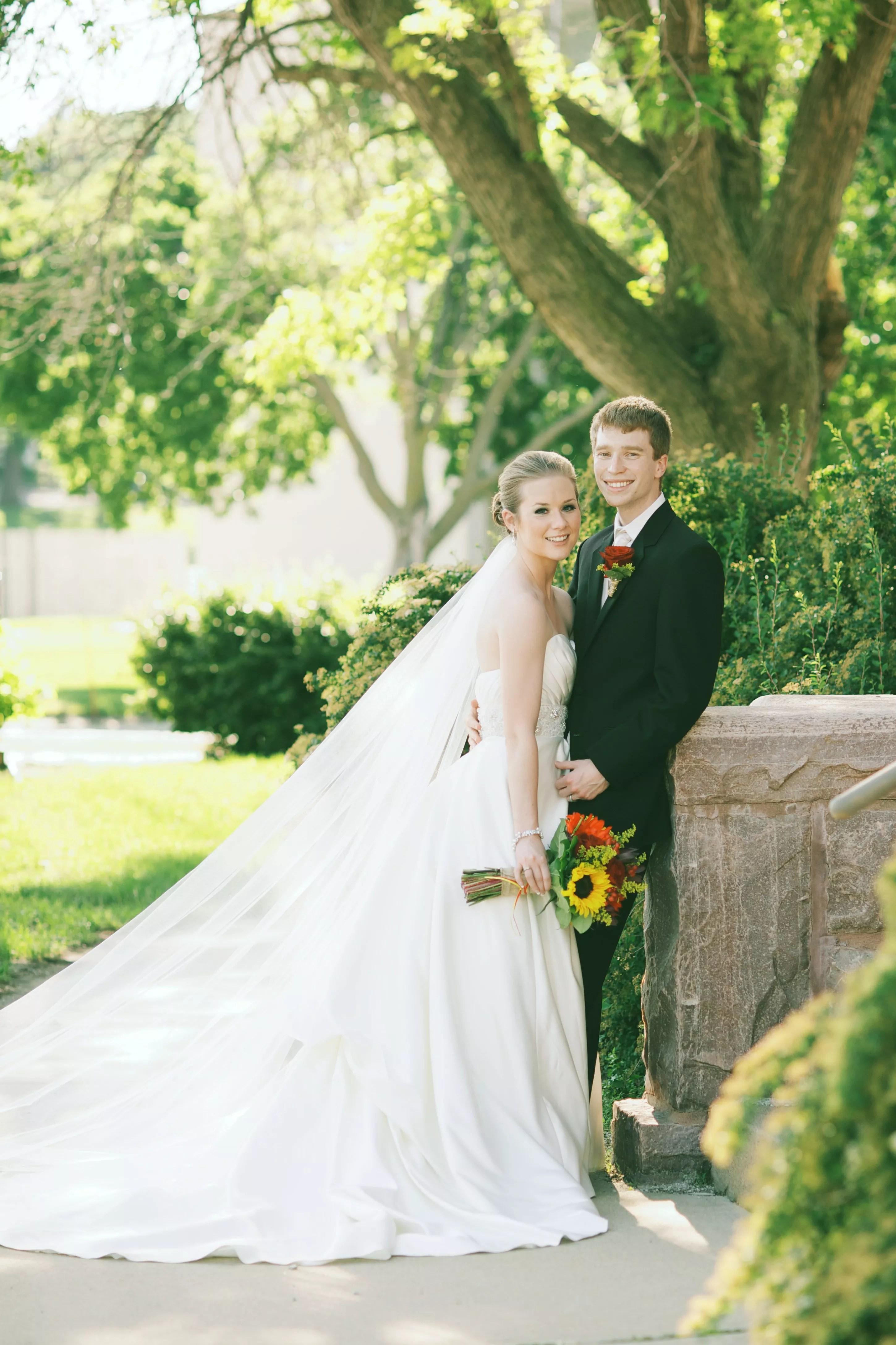 A Rustic Summer Wedding In Sioux Falls SD