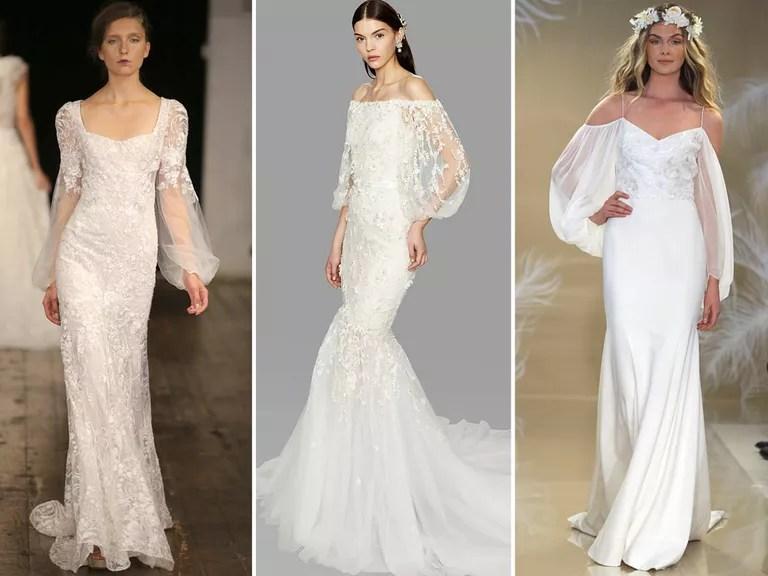 Fall 2017 Bridal Fashion Week Wedding Dress Trends
