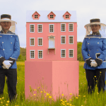 The Luxury Bee Hotel - the grand budapest hotel