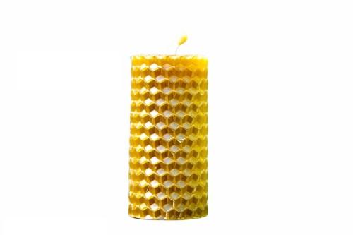 bougie en cire d'abeille