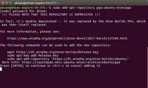 install Wine on ubuntu