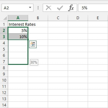 ComboBox from Excel Form Control