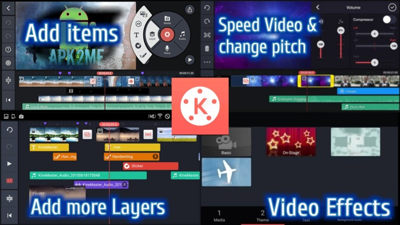 KineMaster Vs PowerDirector Comparison and which is the best Video Editor app
