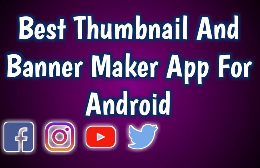 Best Thumbnails maker app
