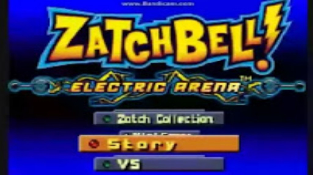 Zatch bell electric arena game modes