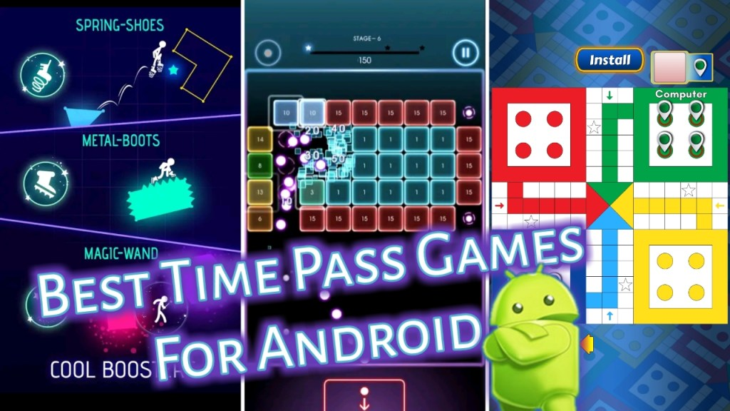 Best Games for time pass