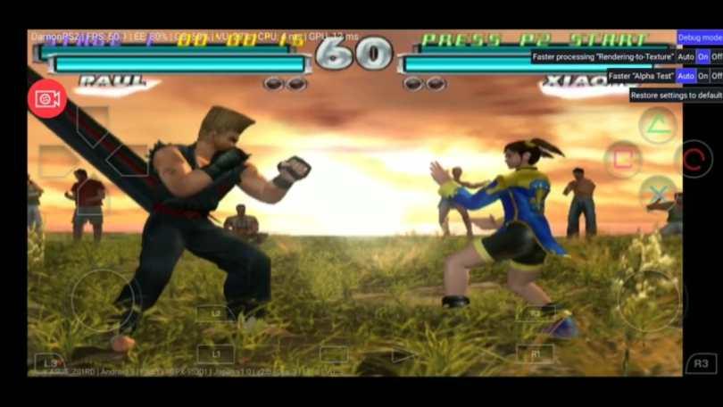 Tekken Tag Tournament Gameplay PS2