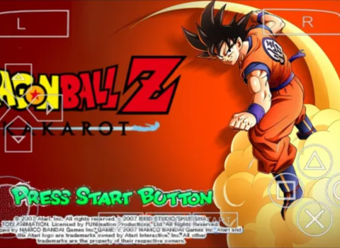 Dragon Ball Z Kakarot For Android PSP ISO Download
