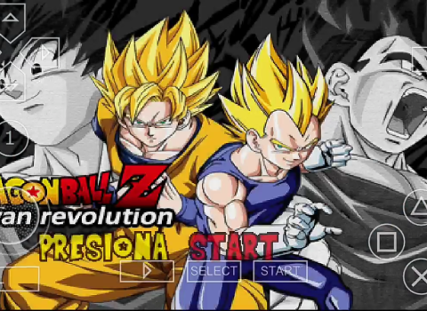 Dragon Ball Z Shin Budokai 2 Mod Download PSP ISO
