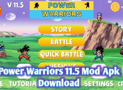 Power Warriors 11.5 Mod Apk Download