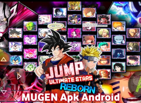 Jump Ultimate Stars Mugen Apk For Android