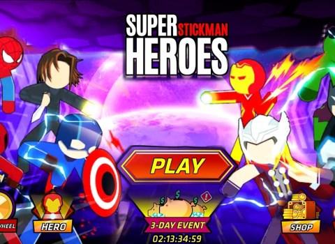Marvel Avengers Super Stickman Heroes fight