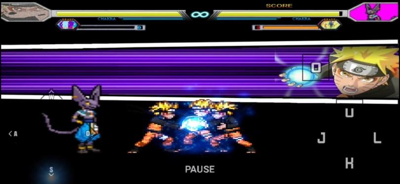 Anime Super Battle Stars Mugen Apk For Android BVN mod download